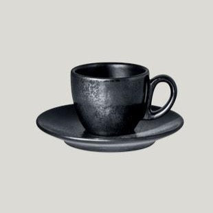RAK CLASSIC UNIVERSAL-KARBON ESPRESSO CUP SAUCER - Mabrook Hotel Supplies