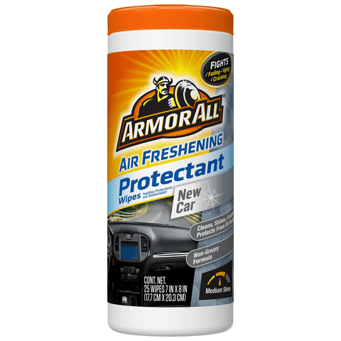 New Car Air Freshening Protectant Wipes