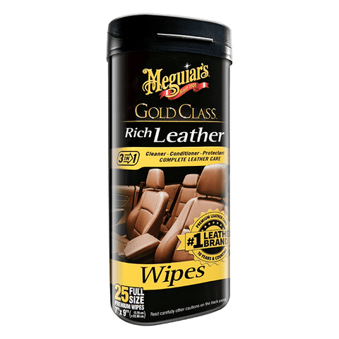 Gold Class Rich Leather Cleaner & Conditioner Wipes