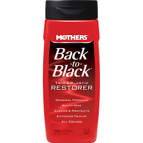 Back-to-Black® Trim & Plastic Restorer