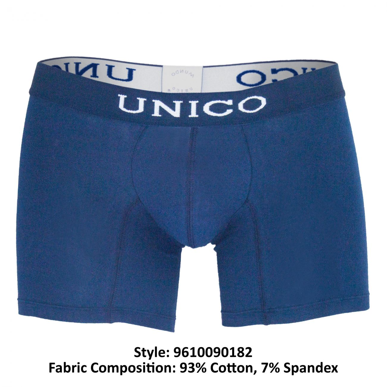 under-yours - (9612010020282) Boxer Briefs Profundo Cotton - Unico - Mens Underwear