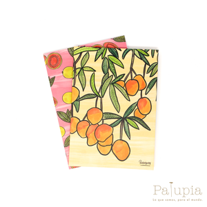Set Notebooks Mango + Guayabas