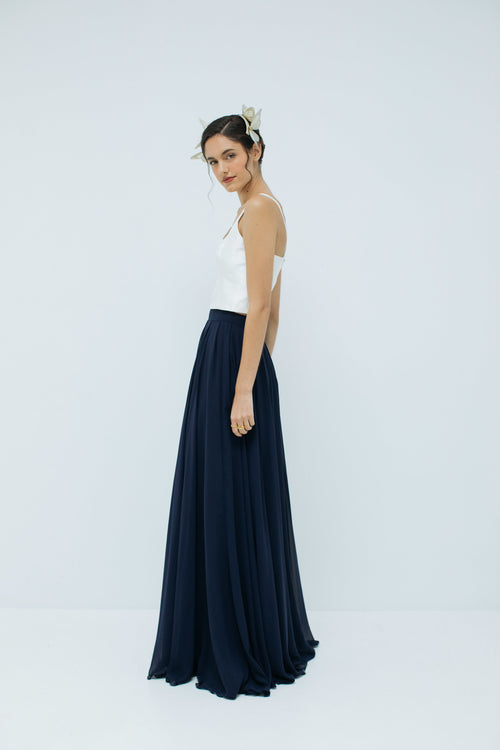 Cherie Skirt in Navy