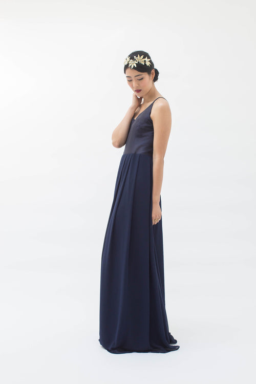 Marnie Dress in Navy