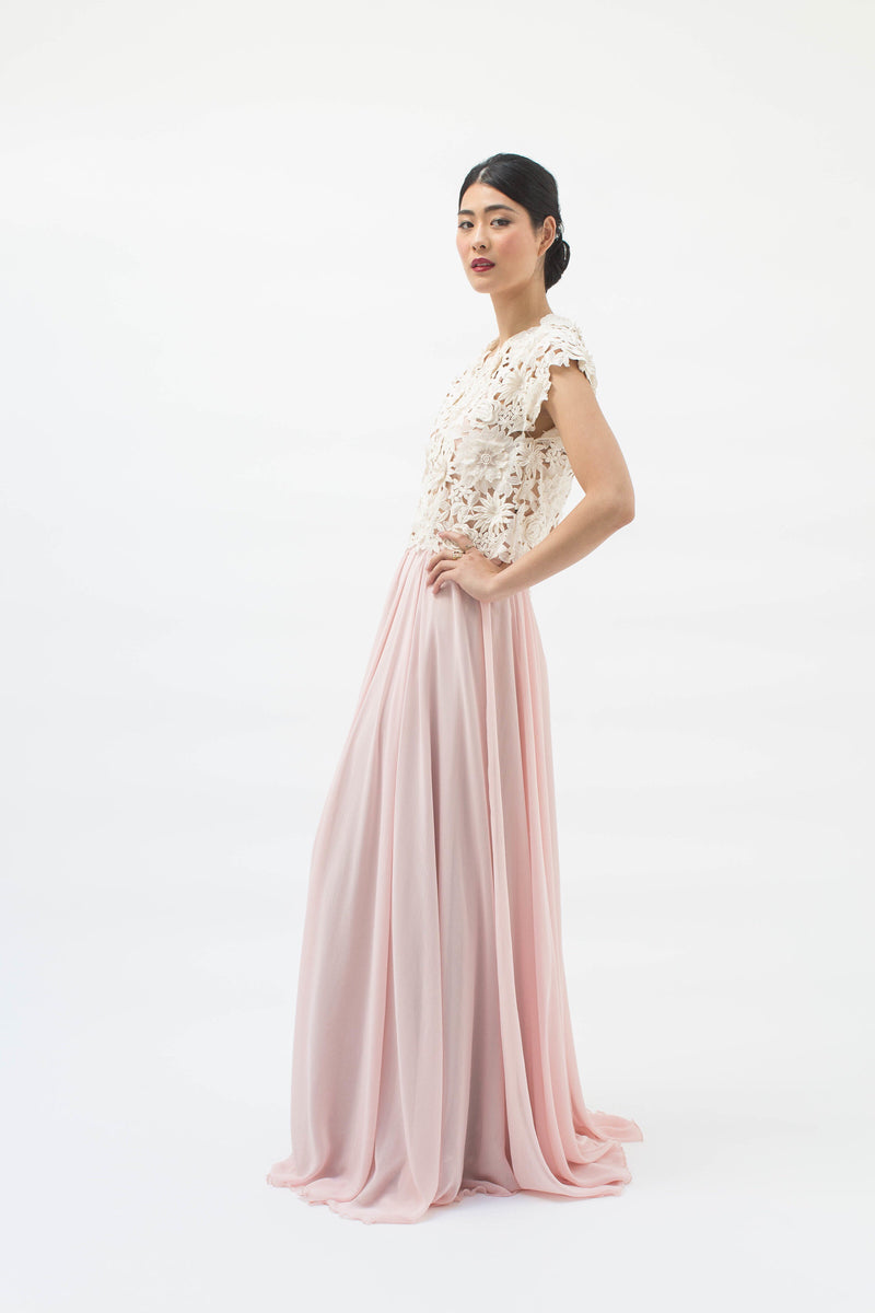 Cherie Skirt in Blush