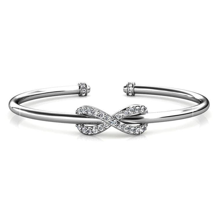 Infinite Love Adjustable Bangle Bracelets