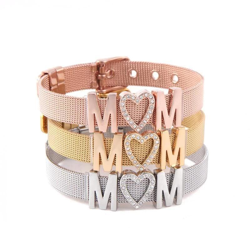 MOM Bracelet in Stainless Steel