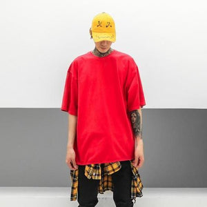 CLASSIC HYPE TEE - RED-Tee-Urban Fit