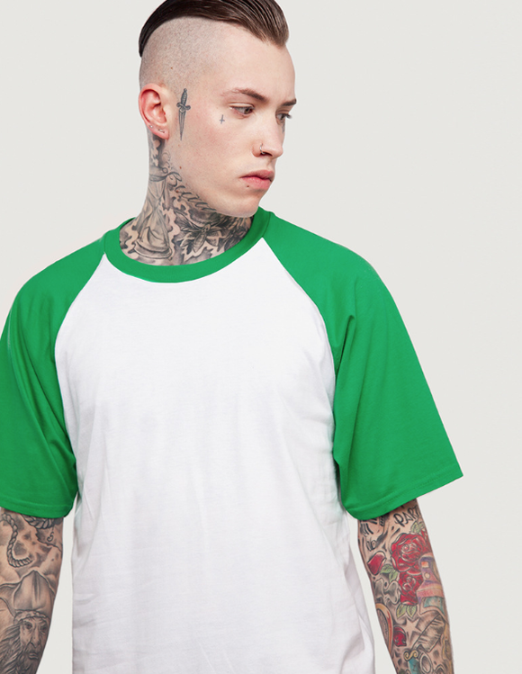 HYPE BASEBALL TEE-Tee-Urban Fit