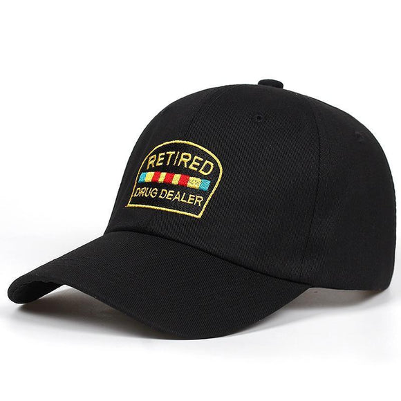 RETIRED DRUG DEALER DAD HAT-Hats-Urban Fit