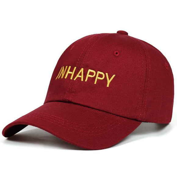 UNHAPPY DAD HAT-Hats-Urban Fit