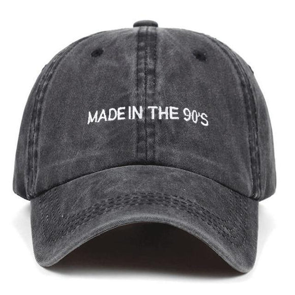 VINTAGE 90'S DAD HAT-Hats-DARK GREY-Urban Fit