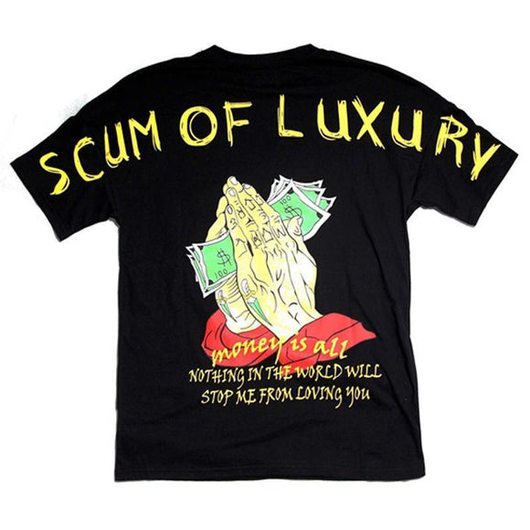 SCUM OF LUXURY TEE-Tee-Urban Fit