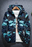 Camo Windbreaker-Windbreaker-Blue-Urban Fit