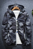 Camo Windbreaker-Windbreaker-Gray-Urban Fit