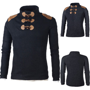 Buttoned Top-Sweater-Urban Fit