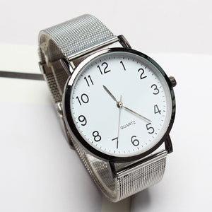 Stainless Steel Strap Watch-Watch-Urban Fit