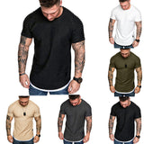 Pleated Sleeve Tee-Tee-Urban Fit