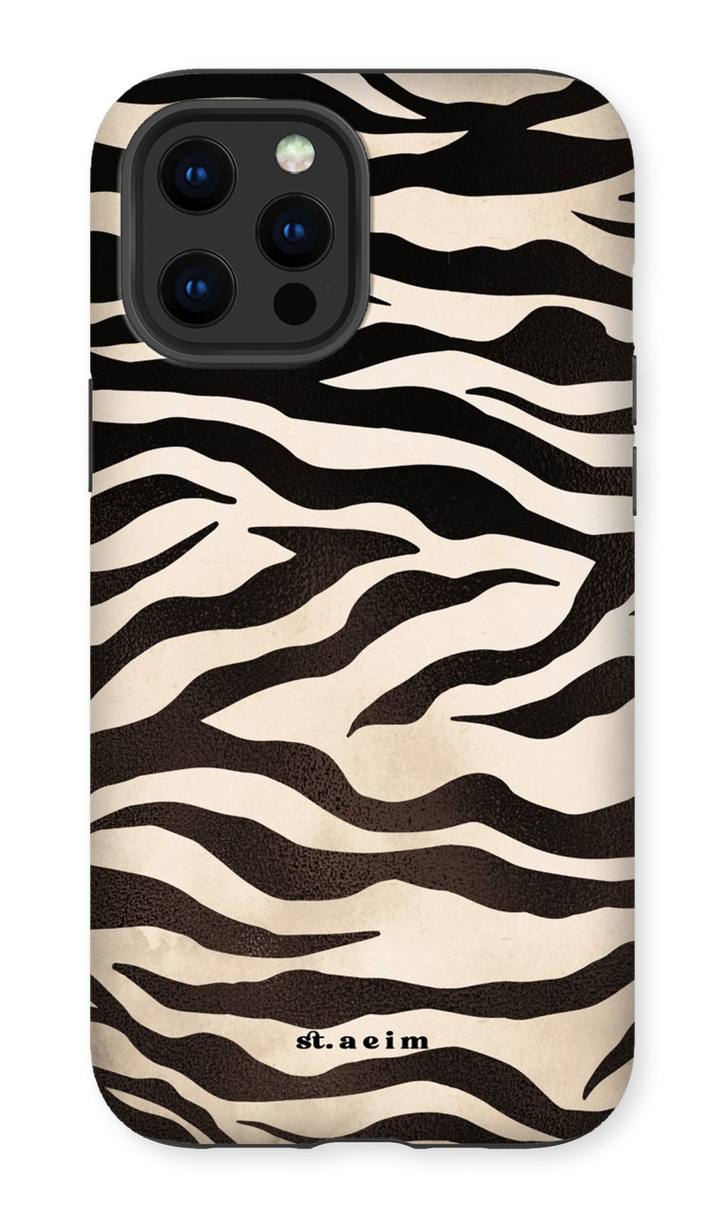 Stained Zebra iPhone Case Phone Case