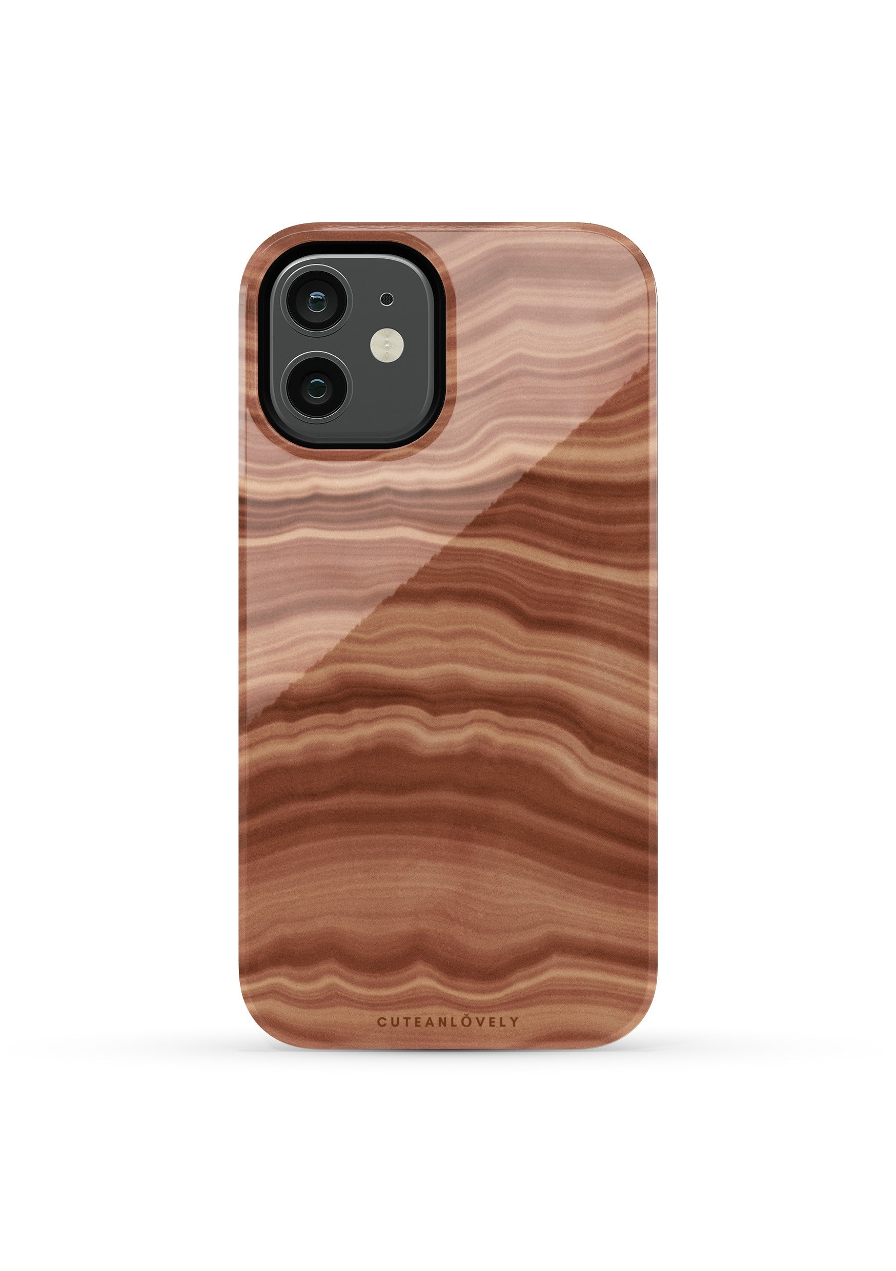 CUTEANLOVELY | Earth Flow Marble iPhone 12 Pro Max Case