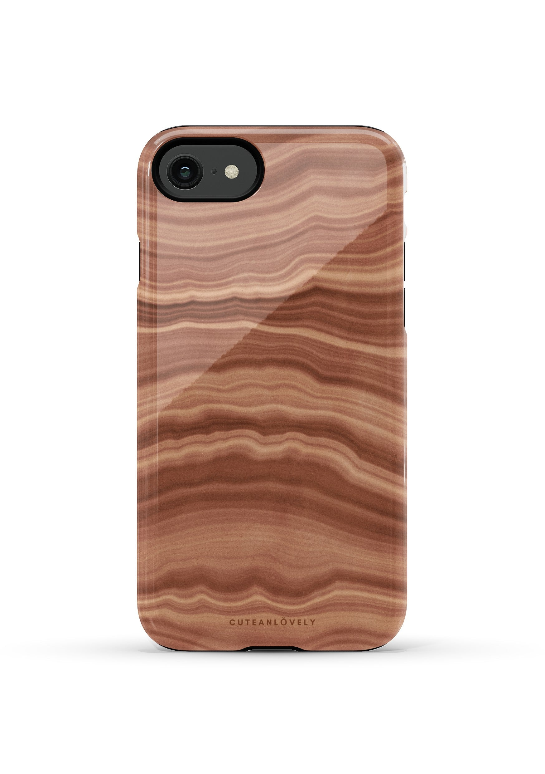 CUTEANLOVELY | Earth Flow Marble iPhone 7/8/Se Case