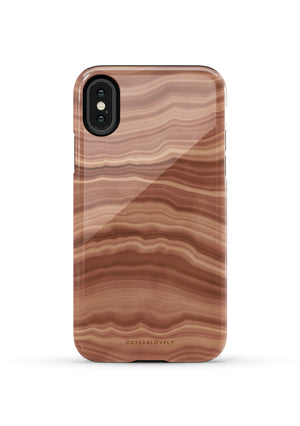 CUTEANLOVELY | Earth Flow Marble iPhone XS Case
