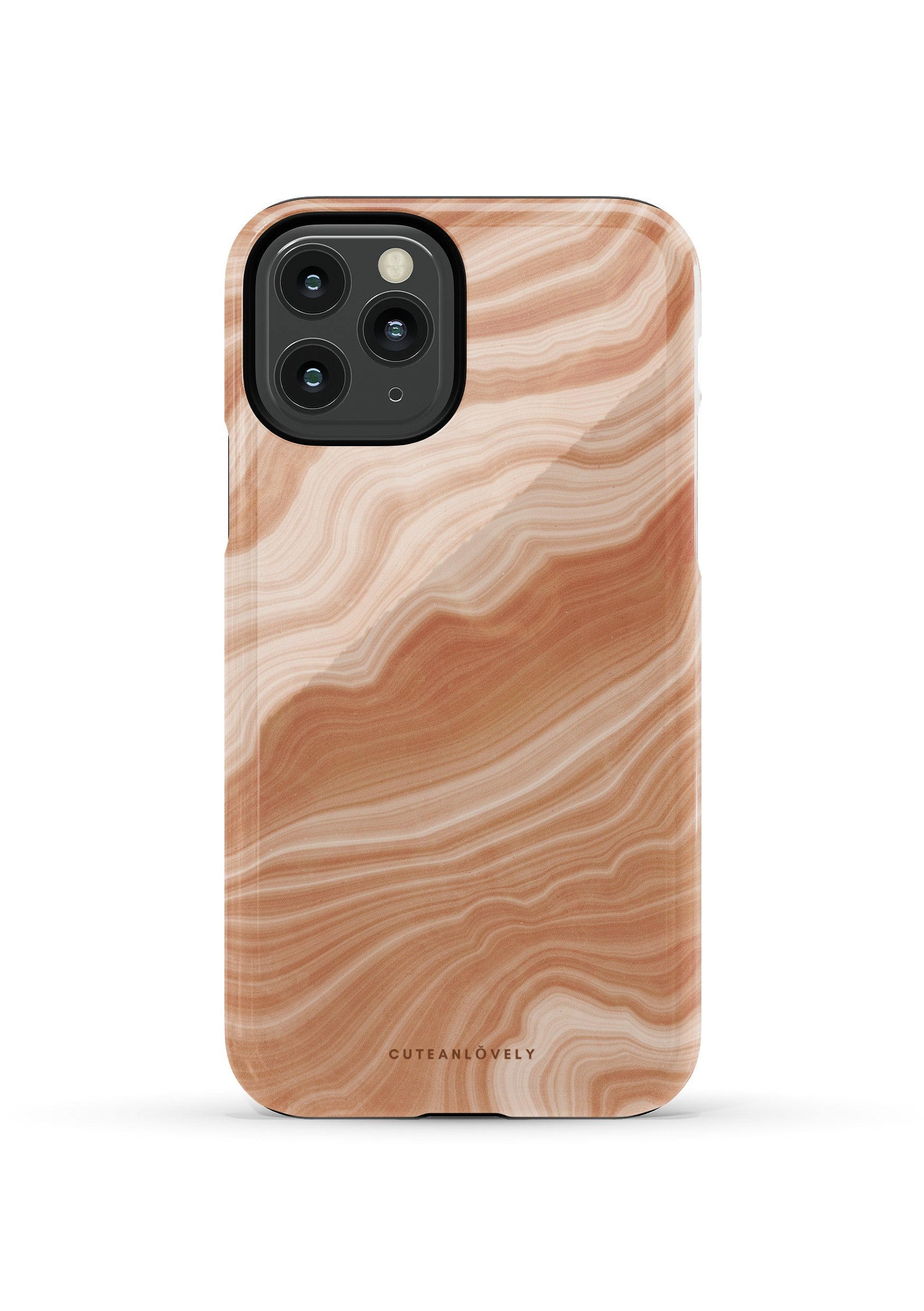 CUTEANLOVELY |Peach Sorbet Marble iPhone 11 Pro  Case