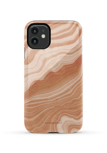 CUTEANLOVELY |Peach Sorbet Marble iPhone 11 Case