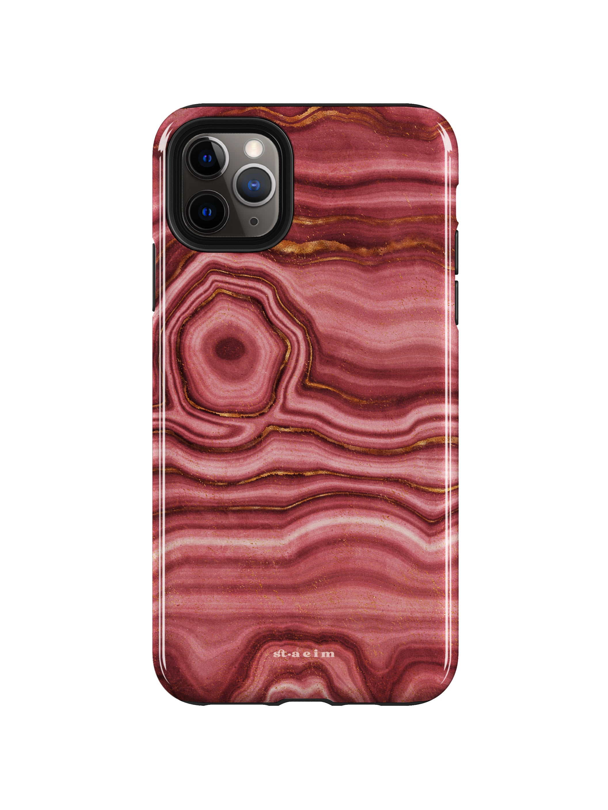 STAEIM | The Flow Agate Marble iPhone 11 Pro Case