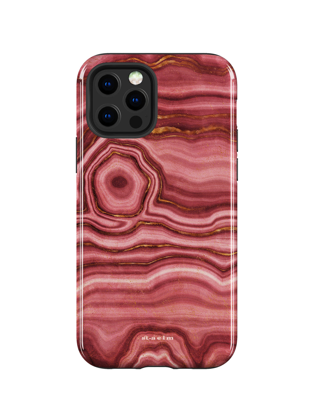 STAEIM | The Flow Agate Marble iPhone 12 Pro Max Case