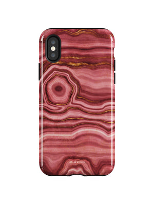 STAEIM | The Flow Agate Marble iPhone XS  Case