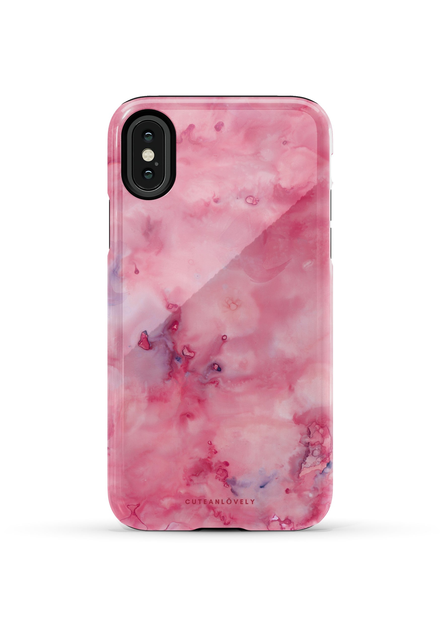 CUTEANLOVELY | Volcanic Marble iPhone X/XS Case