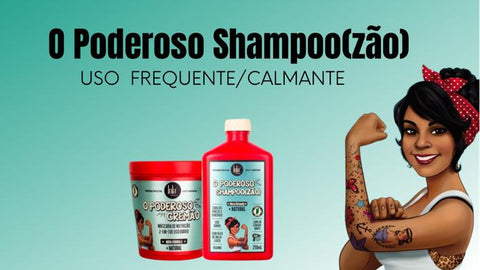 THE MIGHTY SHAMPOO (ZÃO)