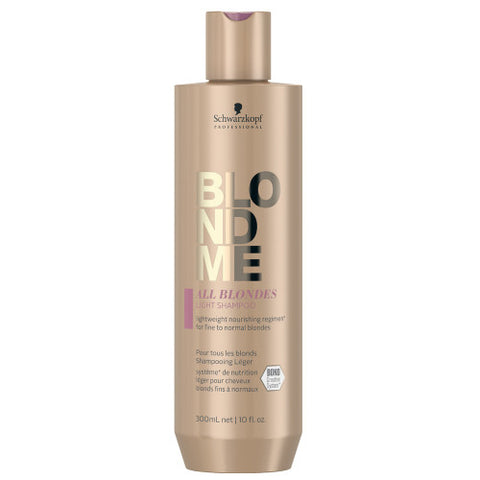 SCHWARZKOPF BLONDME All Blondes Light Shampoo 300ml