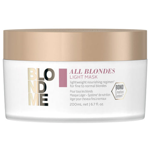 SCHWARZKOPF BLONDME All Blondes Light Mask 200ml