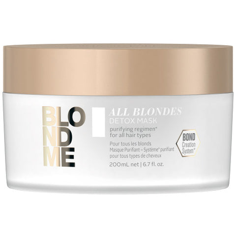 SCHWARZKOPF BLONDME All Blondes Detox Mask 200ml