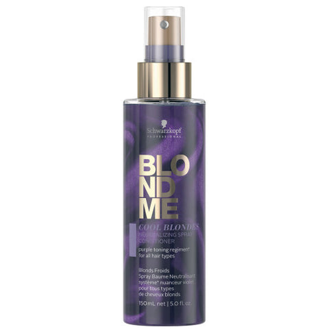 SCHWARZKOPF BLONDME Cool Blondes Neutralizing Spray 150ml