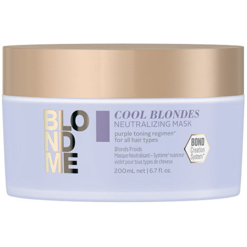 SCHWARZKOPF BLONDME Cool Blondes Neutralizing Mask 200ml