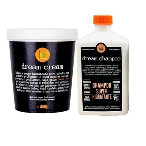 LOLA COSMETICS Dream Cream KIT Shampoo+Máscara