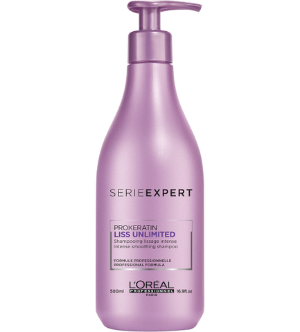L'ORÉAL Serie Expert Liss Unlimited Shampoo 500ml