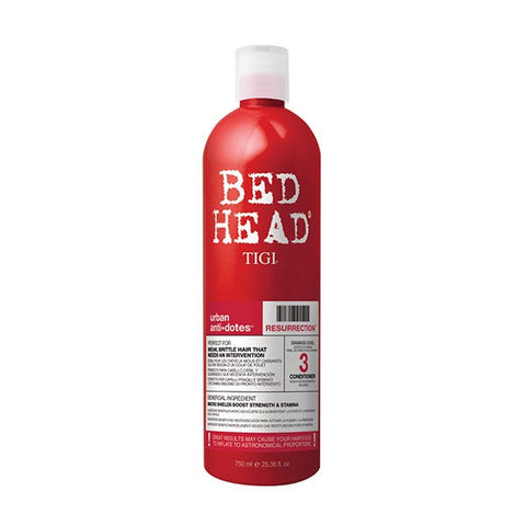 TIGI BED HEAD URBAN ANTIDOTES LEVEL 3 RESURRECTION CONDITIONER XL 750ml