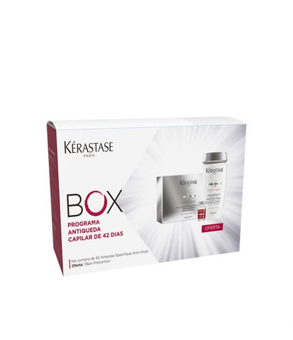 KÉRASTASE BOX SPÉCIFIQUE CURE ANTI-CHUTE 42X6ML (Shampoo Offer)