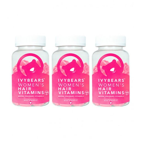 IVYBEARS HAIR VITAMINS FOR WOMEN - TRATAMENTO 3 MESES