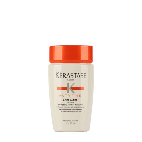KÉRASTASE Nutritive Bain Satin 1 Shampoo 80ml ( Travel-Size )