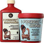 KIT LOLA COSMETICS SHAMPOO POTENTE (ZÃO) 250ML + CREMÃO 230G