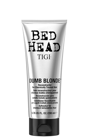 TIGI BED HEAD DUMB BLONDE Reconstructor Conditioner for Blonde Hair 200ML