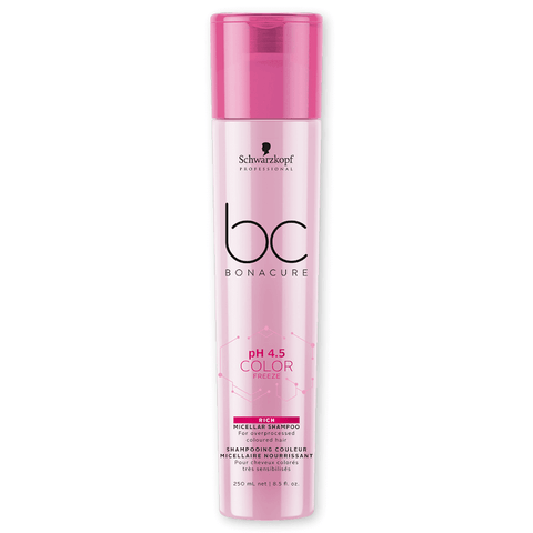 SCHWARZKOPF BC PH 4.5 Color Freeze Shampoo Enriquecido 250ml