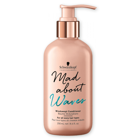 SCHWARZKOPF MAD ABOUT WAVES CONDICIONADOR 250ML