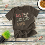 Best Cat Dad Ever T-Shirt
