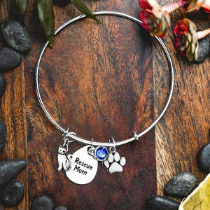 Rescue Mom Bangle Bracelet
